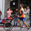 Rooney '08 pushes personal hero in NYC Marathon
